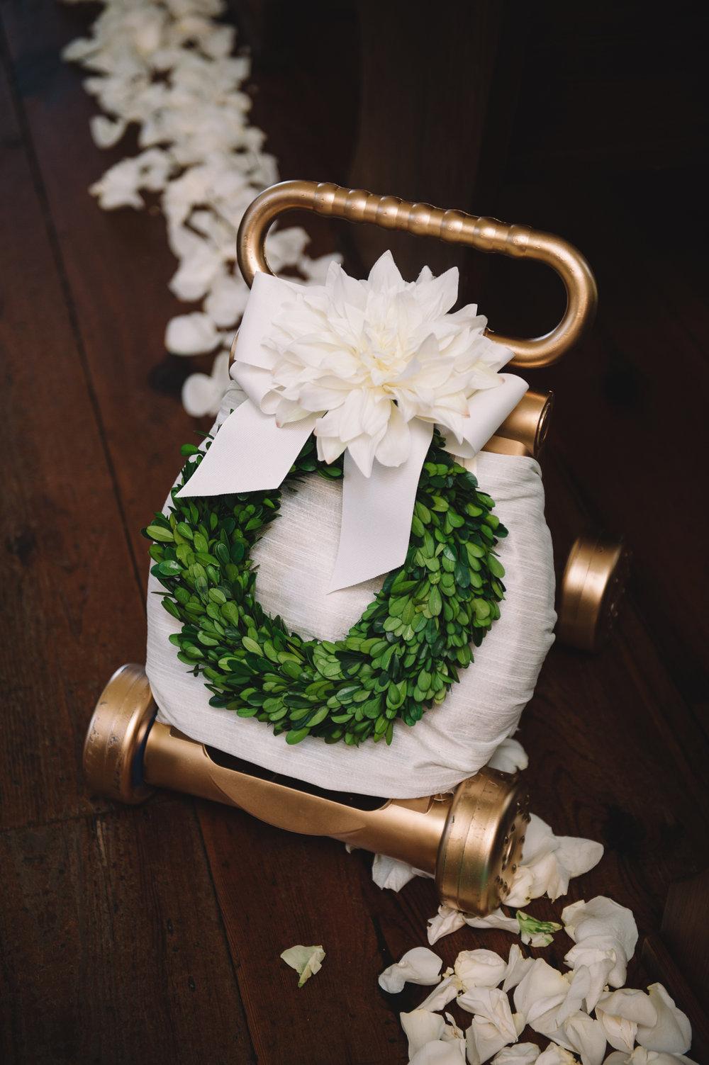 Blush and White Palmetto Bluff wedding by Jennings King Photography and Kelli Corn