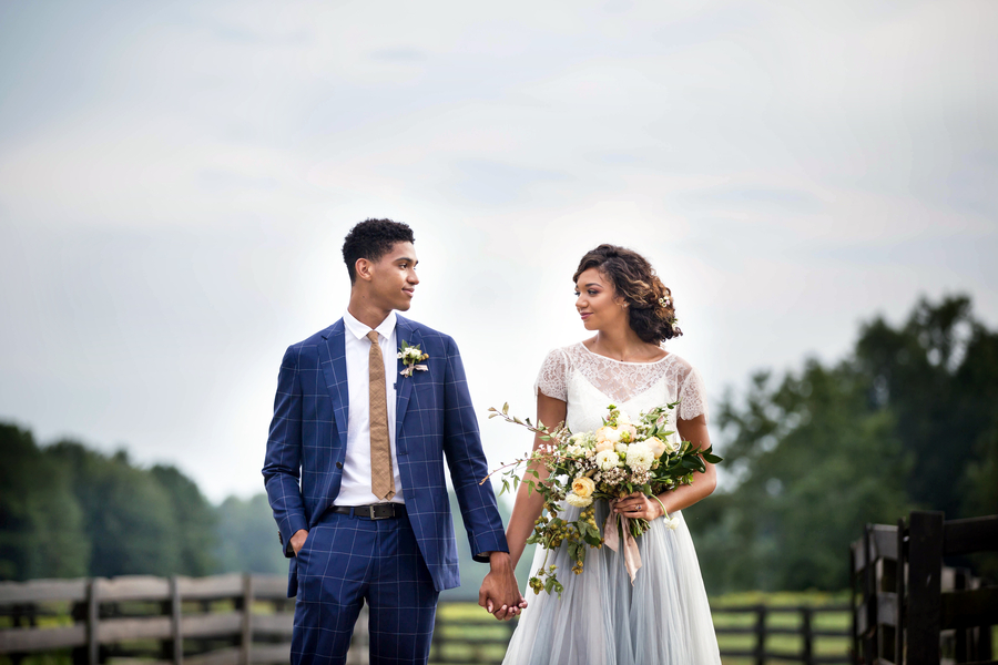 Peach Georgia wedding inspiration by Cassie Xie