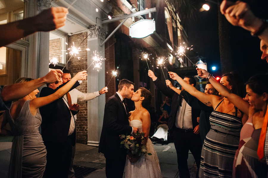 Cammie + Joseph's Marion's in the French Quarter wedding reception