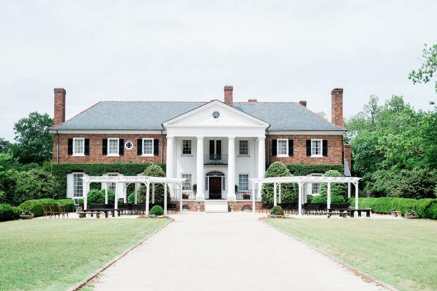 Boone Hall Plantation wedding ceremony