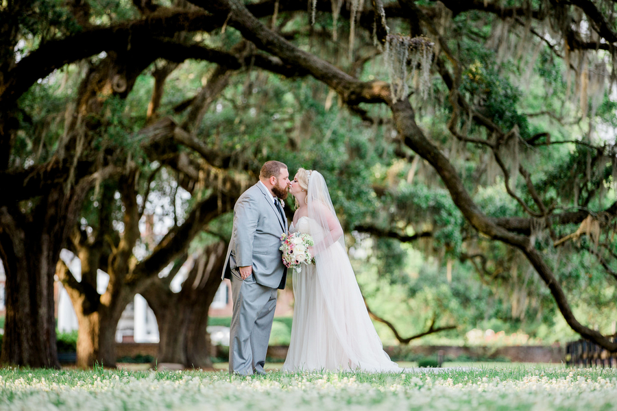 Caitlin + Bradley's Lowcountry wedding at Boone Hall Plantation