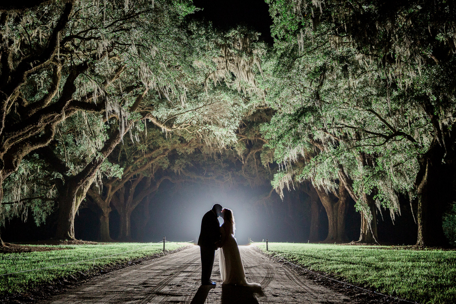 Lowcountry wedding at Boone Hall Plantation