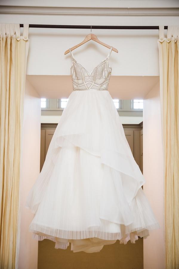 Glamorous wedding gown