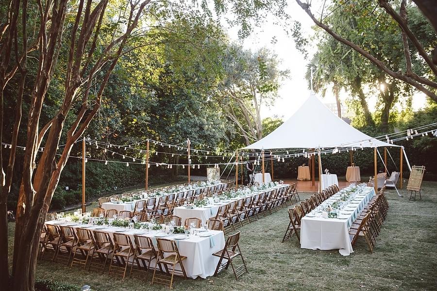 Governor Thomas Bennett House Wedding