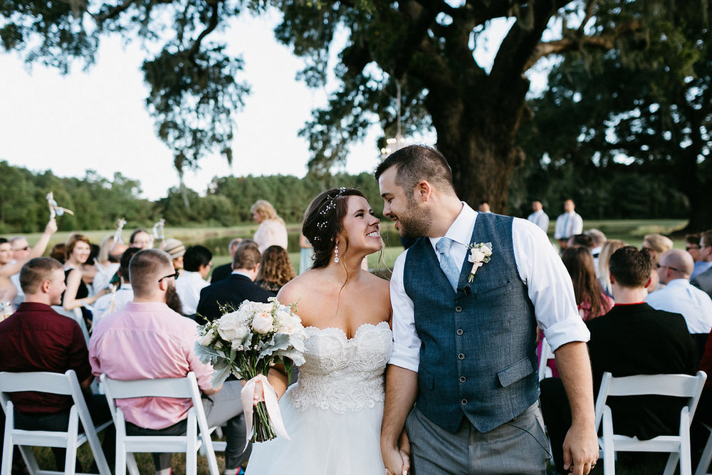 Wingate Plantation wedding