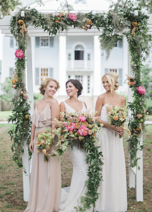 Glamorous McLeod Plantation wedding inspiration in Charleston, SC