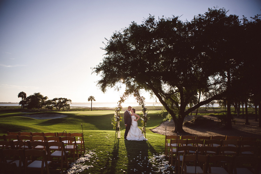 Kiawah Island wedding at The River Course by amelia + dan photography