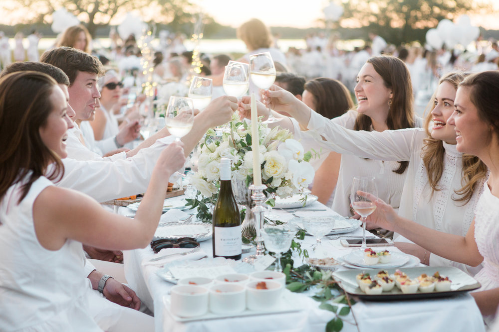Le Diner en Blanc - Charleston - Captured by Kate Photography