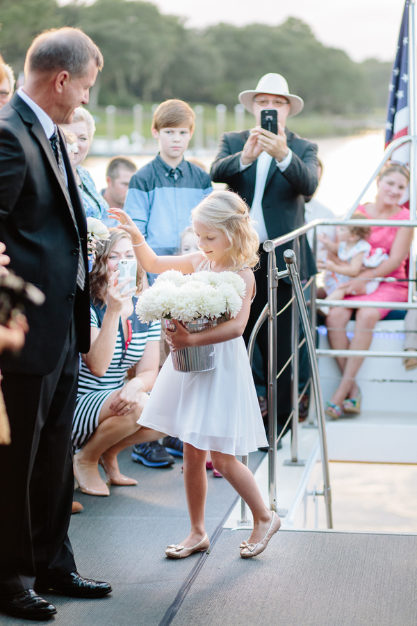 Charleston Wedding on the Carolina Girl Yacht