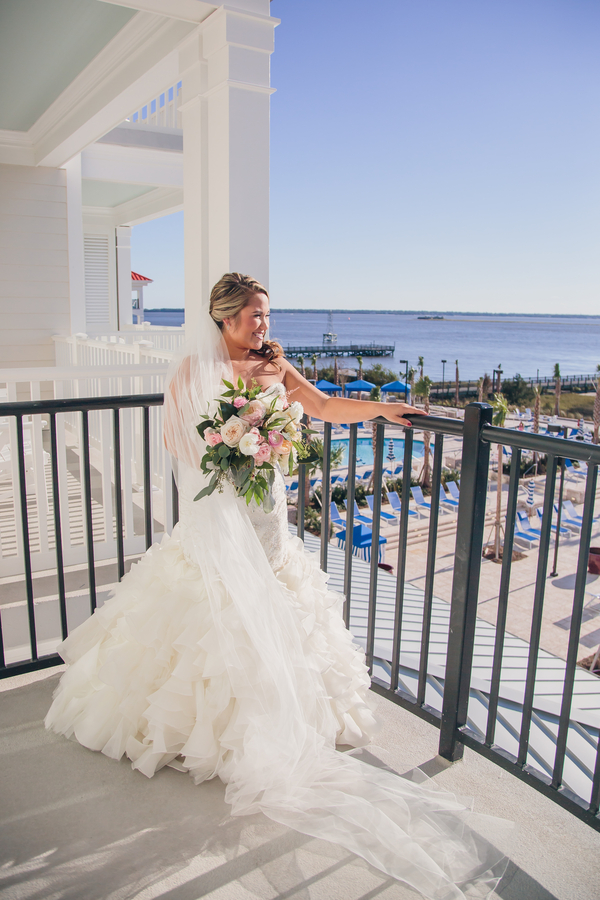 Charleston wedding at Patriots Point by Duvall Events