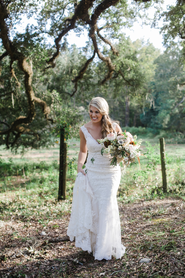 Charleston wedding at Fair Spring Stables by Old South Weddings