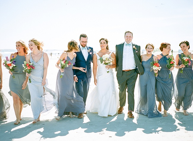 Beach wedding at The Inn at Folly Beach by sMm Photography