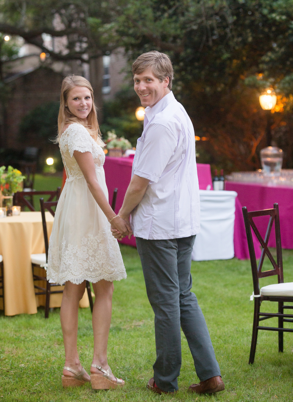 Charleston Wedding Rehearsal Dinner at The Confederate House