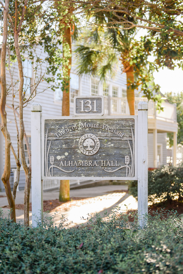 Charleston wedding at Alhambra Hall by Priscilla Thomas Photography