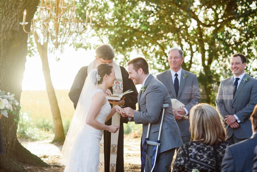 Charleston wedding at Alhambra Hall by Priscilla Thomas Photography