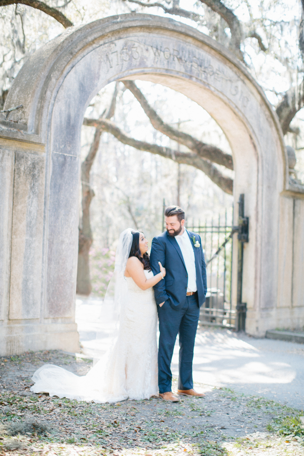Wormsloe Plantation wedding in Savannah, Georgia