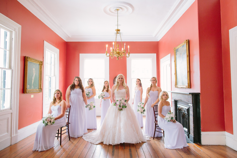 Charleston wedding at The Wickliffe House by Riverland Studios