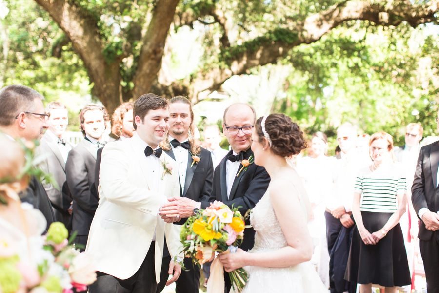 Spring Wedding at The Governor Thomas Bennett House