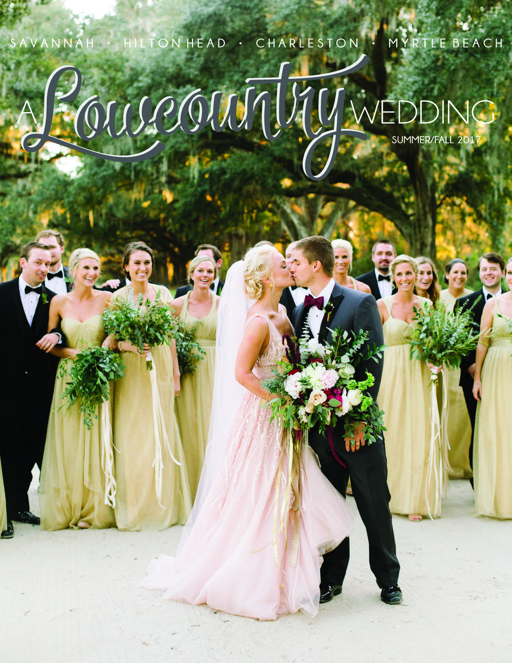 A Lowcountry Wedding Magazine Summer Fall 2017 issue