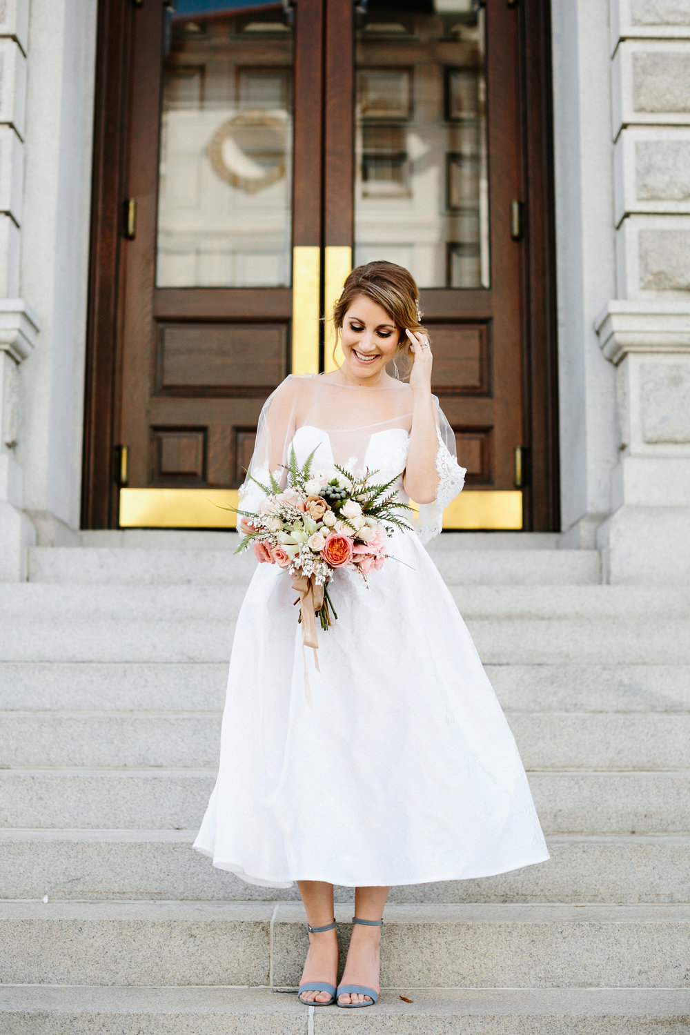 Chic Charleston Wedding Elopement by The Petal Report