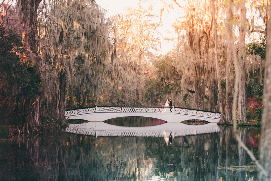 Spring wedding at Magnolia Plantation and Gardens in Charleston, SC by Richard Bell Photography