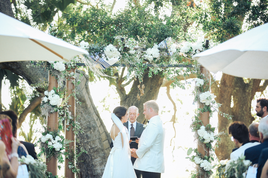 Garden-style wedding at Lowndes Grove Plantation by A Charleston Bride