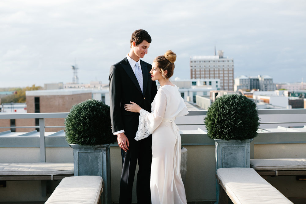Chic Charleston Elopement at The Restoration on King by Elizabeth Ervin