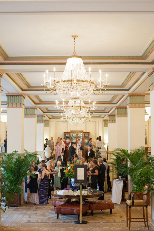 Elegant Reception at The Francis Marion Hotel by Riverland Studios