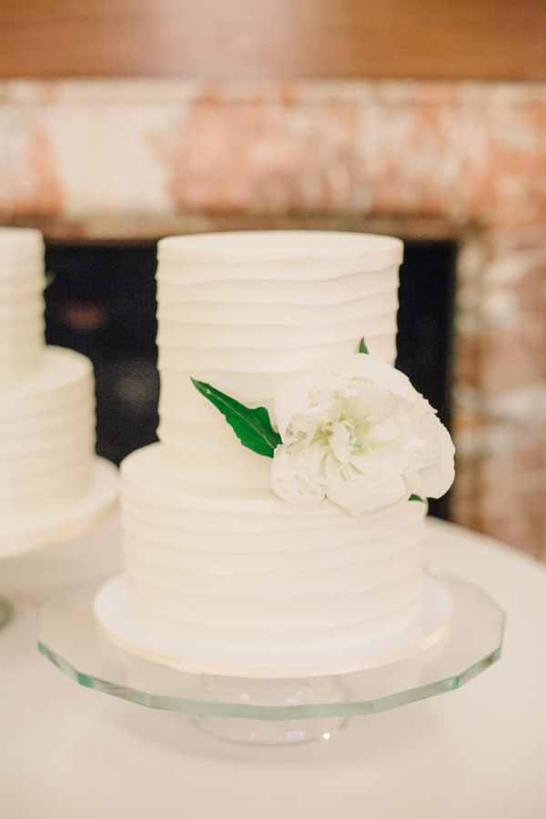 White wedding cake by DeClare Cakes