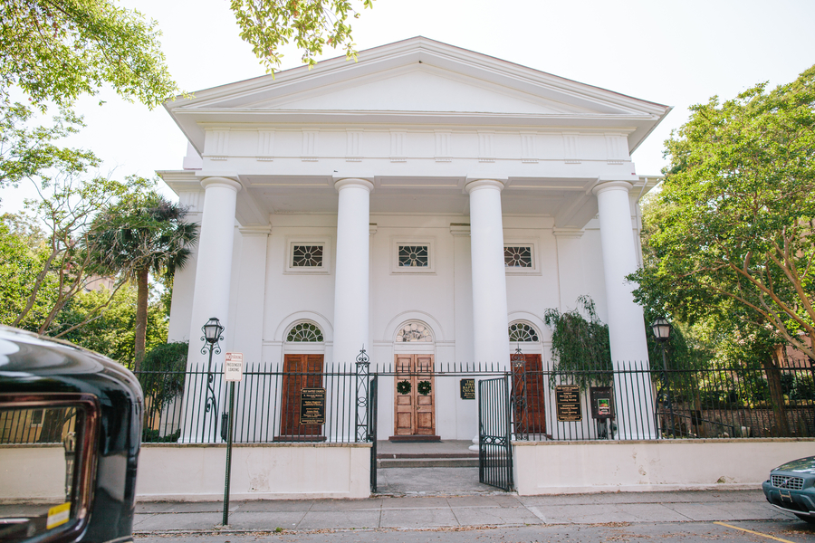The First Baptist Church in Charleston, South Carolina