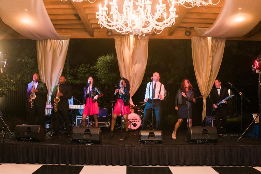 Rhythm Nation Band at Savannah wedding reception