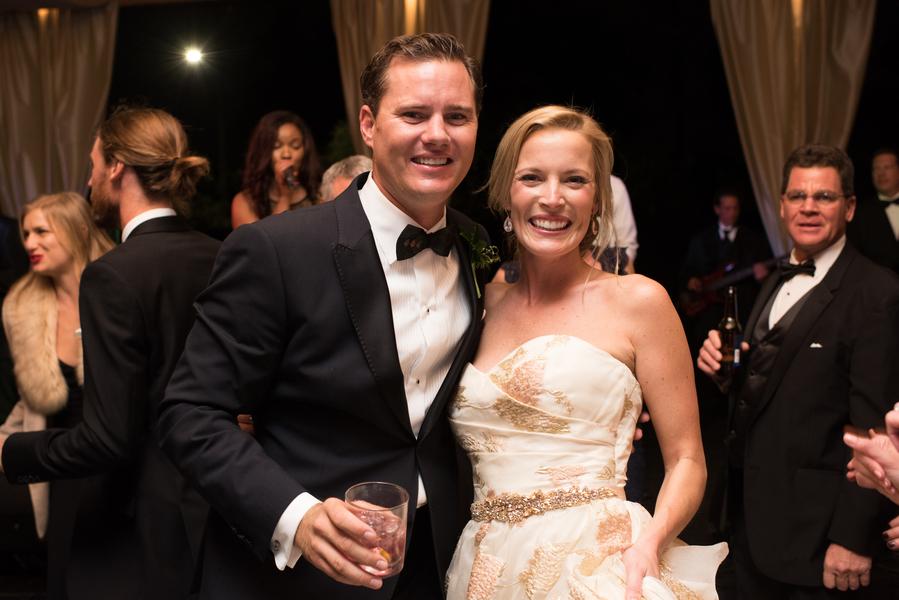 Palmer & Sutton's Savannah wedding reception by Anne Bone Events