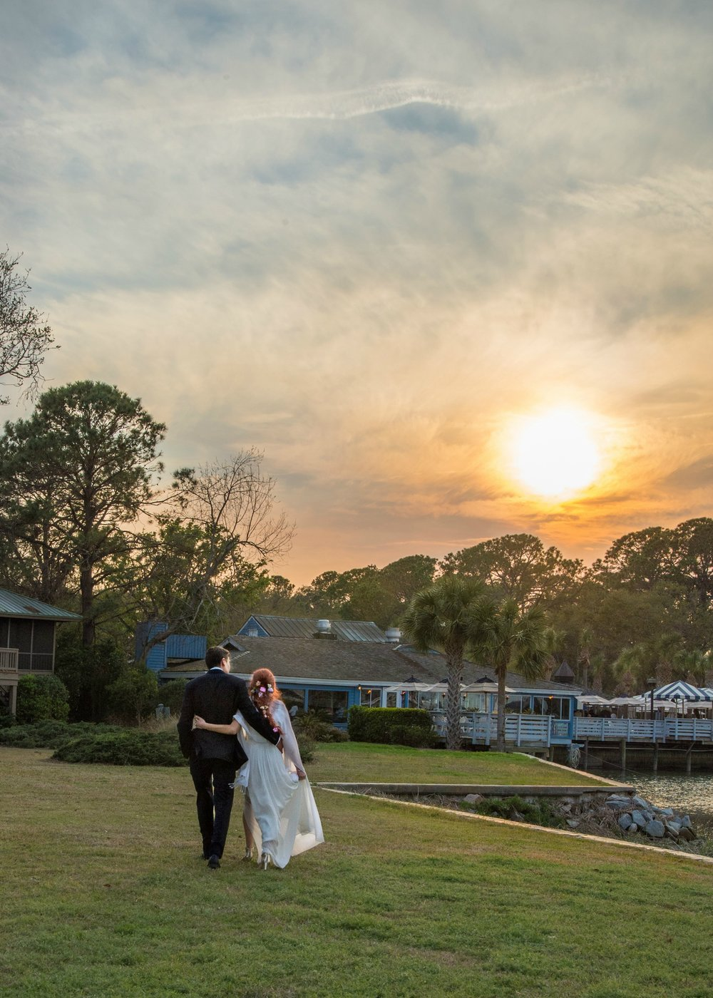 Kim & Erik's Hilton Head wedding at Wreck of the Salty Dog