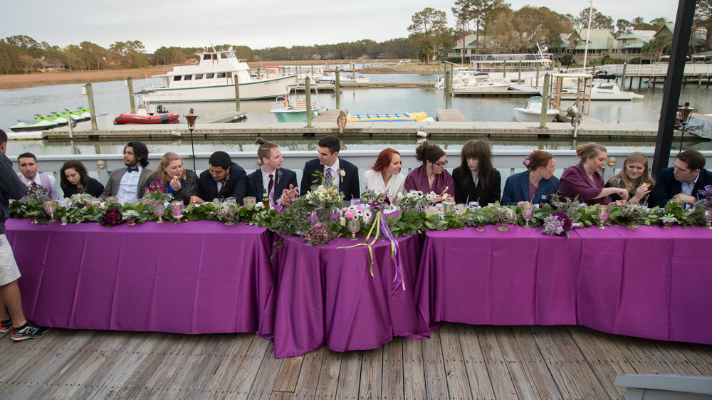 Kim & Erik's Hilton Head wedding at the Wreck of the Salty Dog