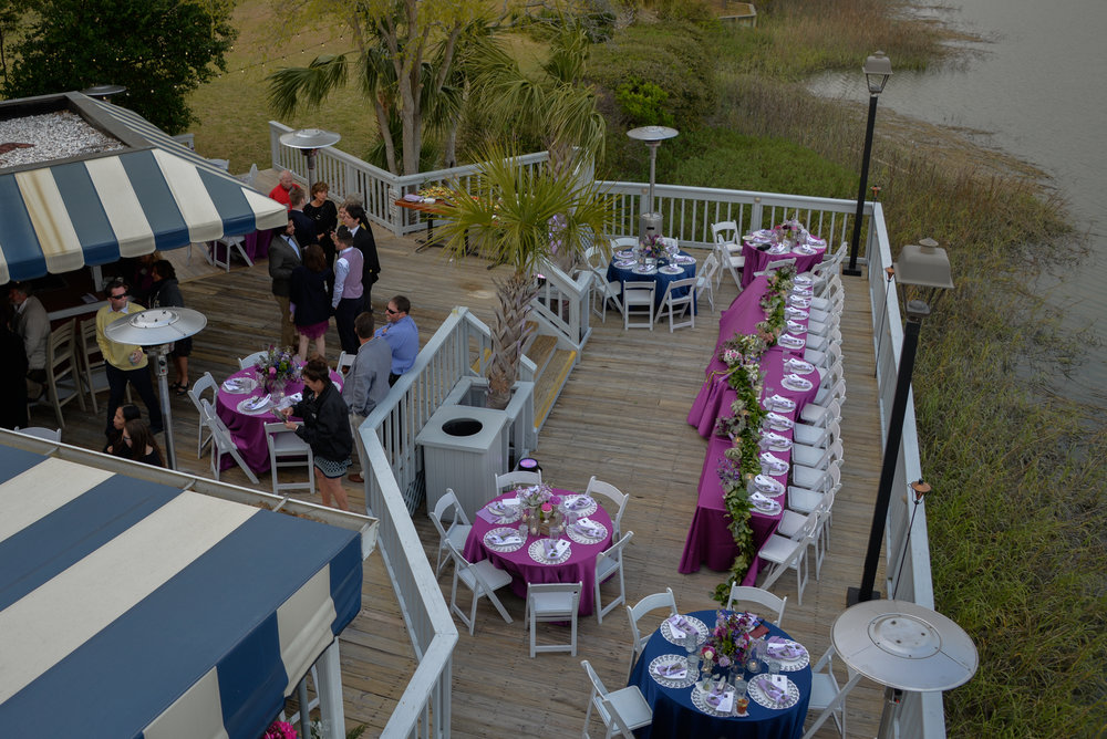 Hilton Head wedding at Wreck of Salty Dog in Sea Pines Resort