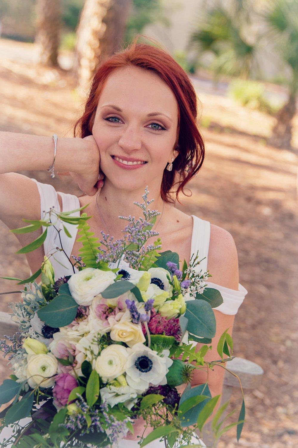 Kim Mandigo's Hilton Head wedding by Gardenias Event Floral