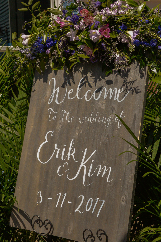 Erik & Kim's Hilton Head wedding at Sea Pines Resort by Gardenias Event Floral