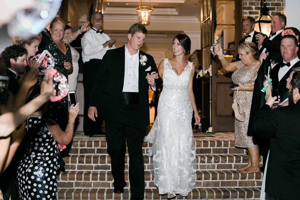 Savannah wedding departure