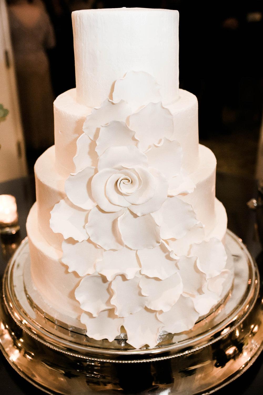White Petal Cake by Flirt with Dessert