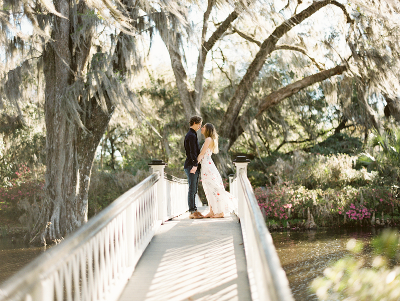 Magnolia Plantation & Gardens engagement by Red Boat Photography