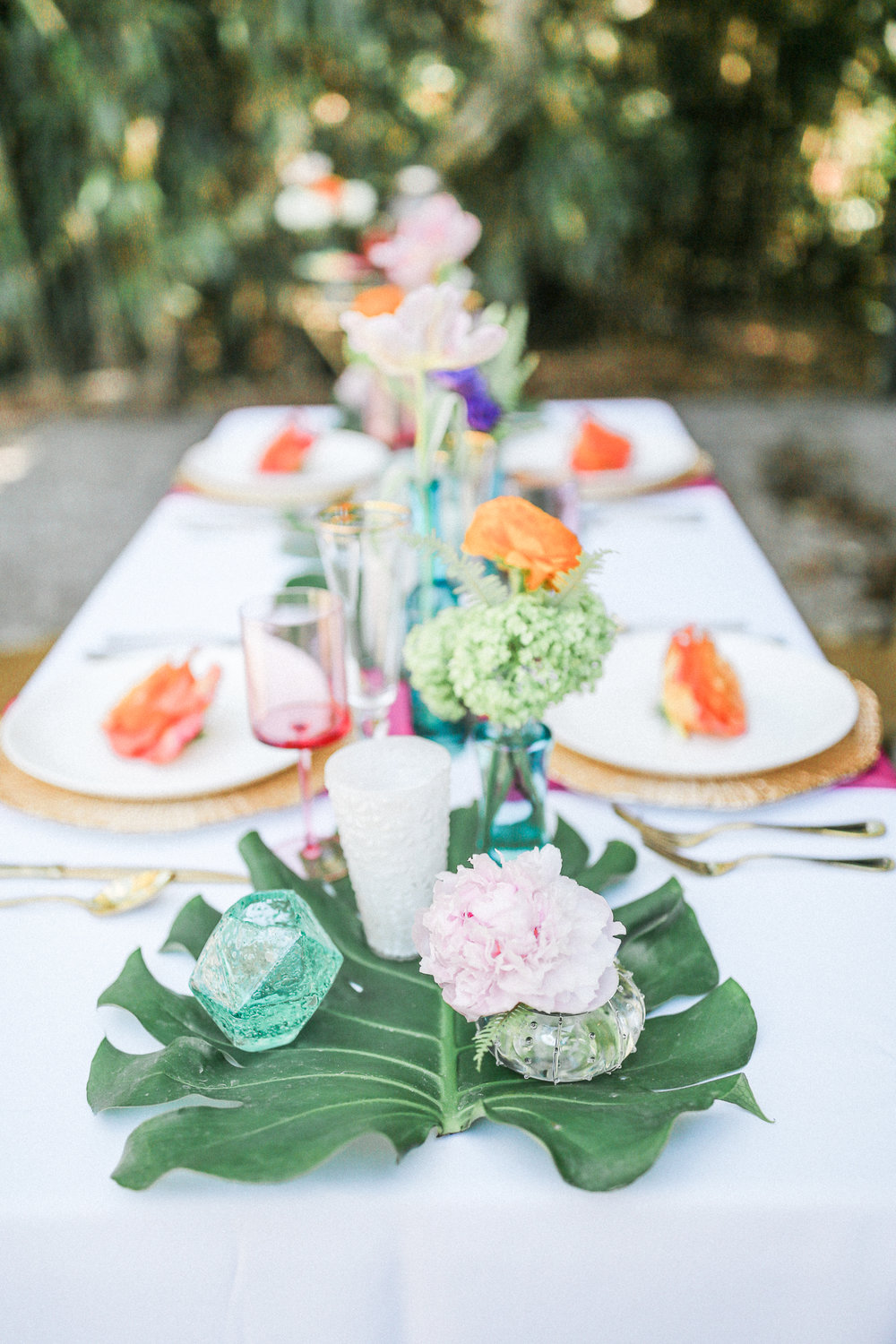 Tropical Styled wedding inspiration at Magnolia Plantation and Gardens