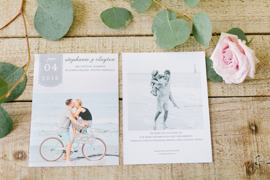 Charleston wedding invitations