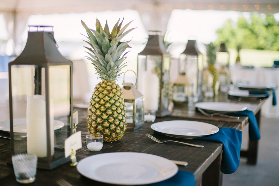 Pineapple Wedding Decor