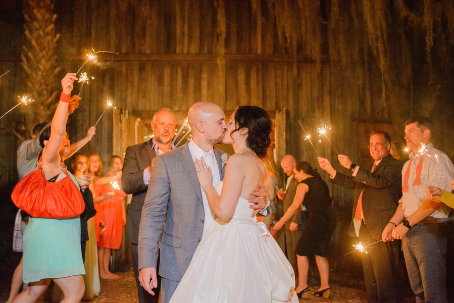 Pastel Boone Hall Plantation wedding by Priscilla Thomas Photography