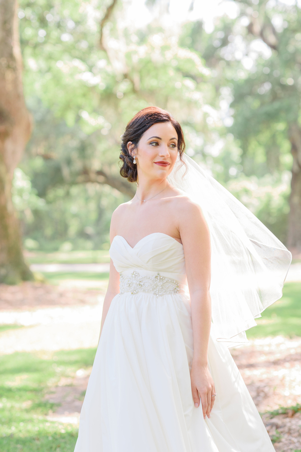 Pastel Boone Hall Plantation wedding in Charleston, SC by Boutique Planning