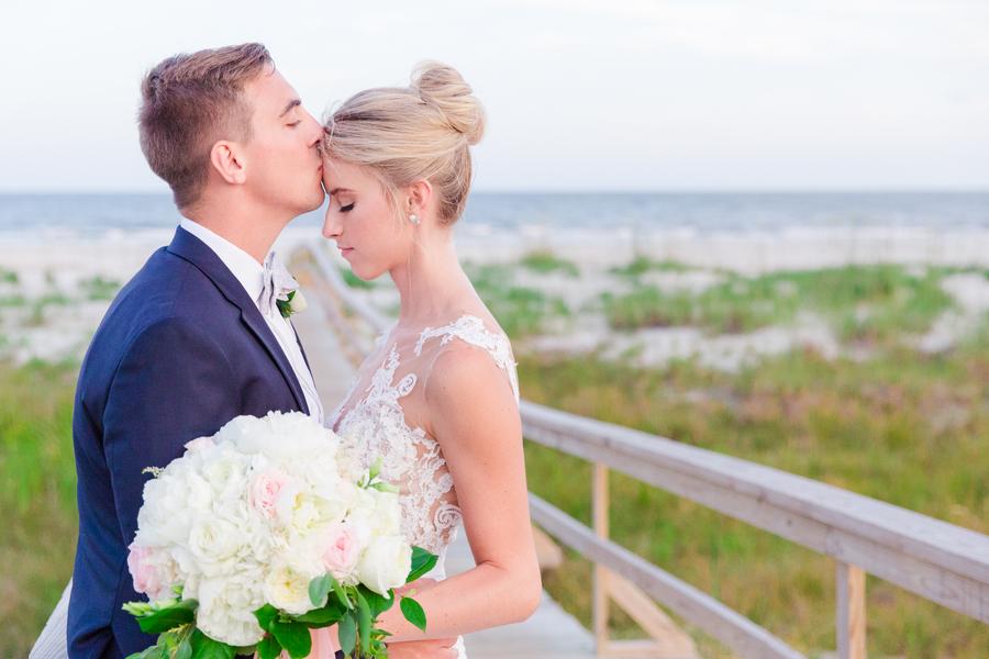 Ocean Creek Golf course wedding at Fripp Island Resort