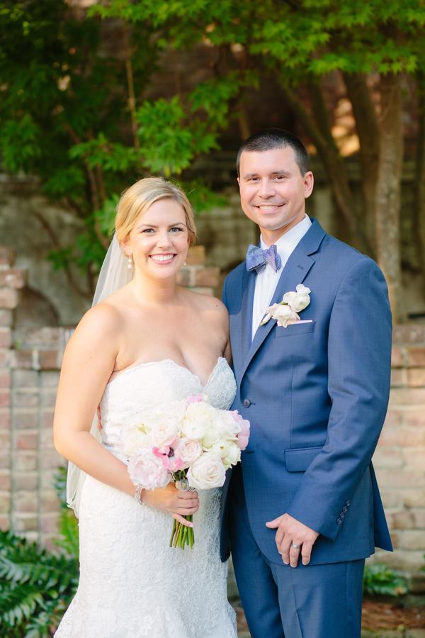 Summer wedding at The William Aiken House in Charleston, SC