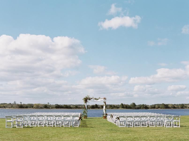 Island House weddng with Navy details on Johns Island, South Carolina