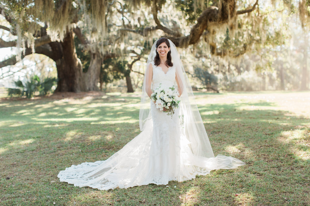 Cassina Point Plantation wedding on Edisto Island, South Carolina