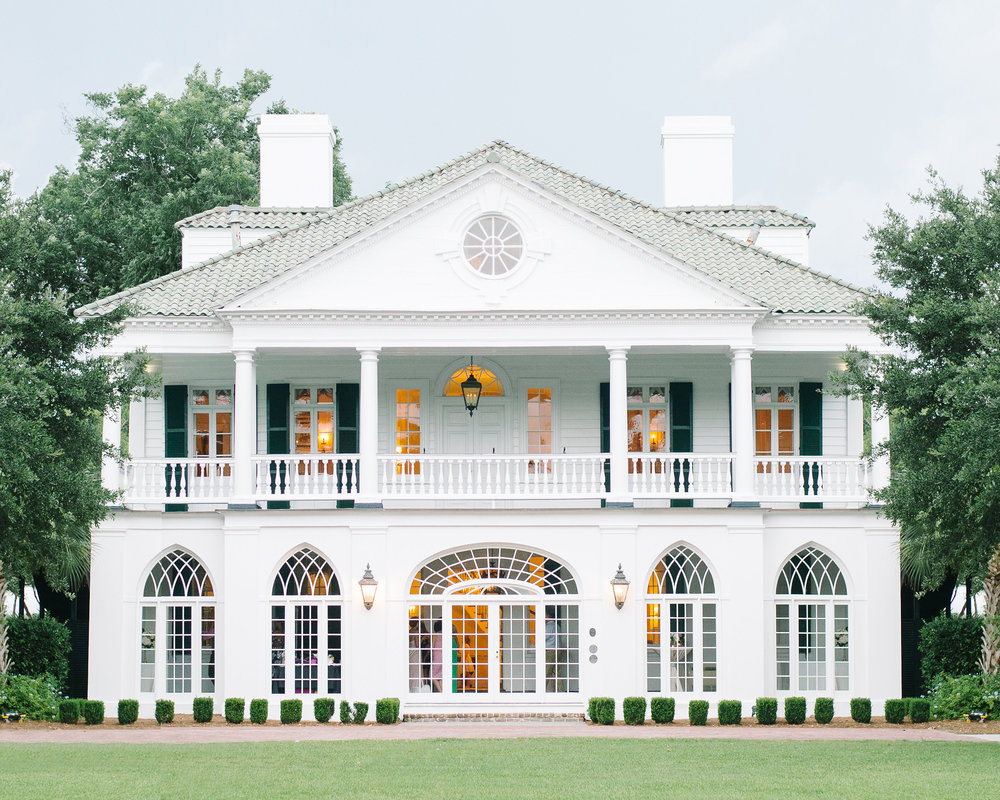 Lowndes Grove Plantation - Charleston wedding venue